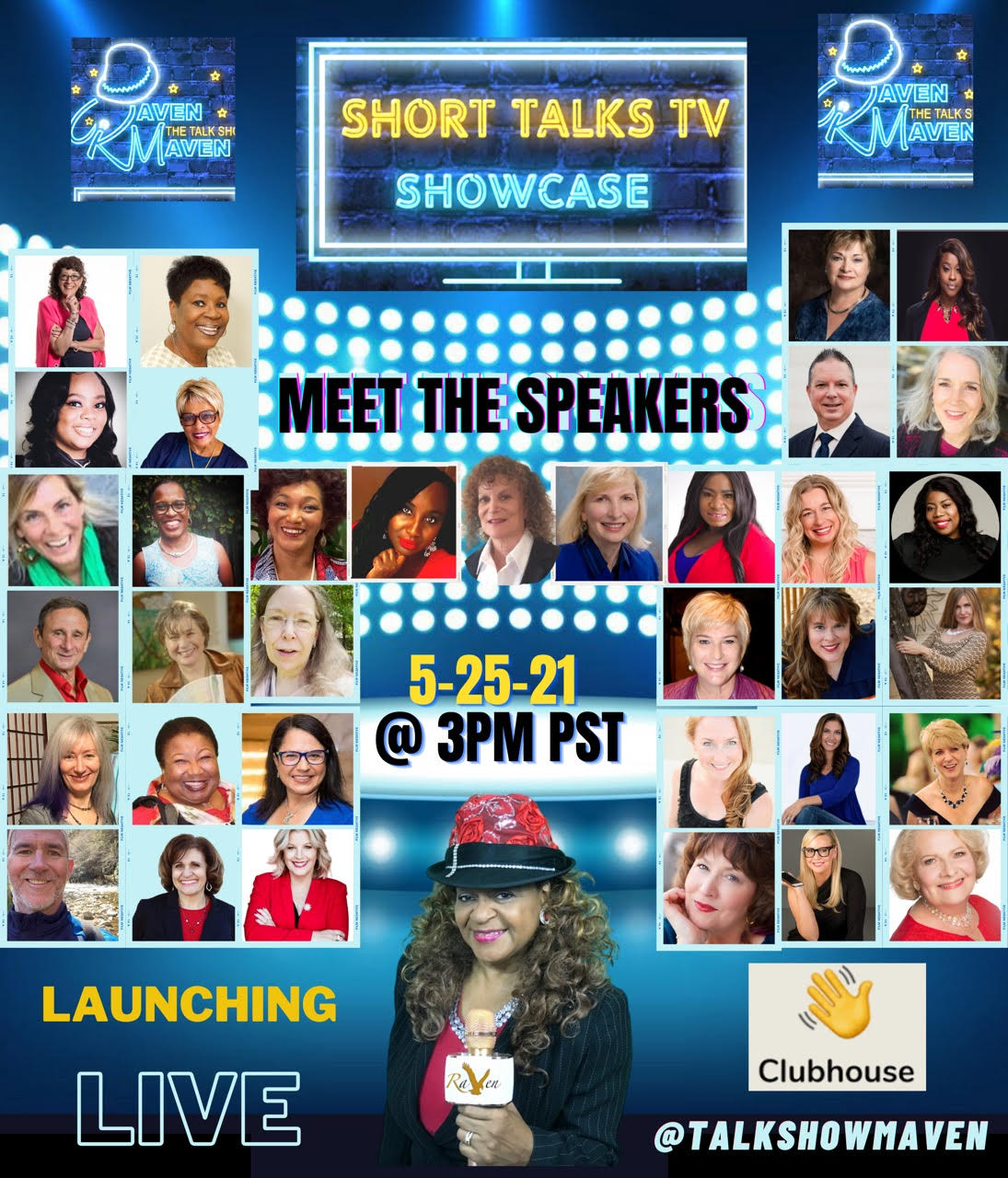 Short Talks TV Launch with Featured Speakers