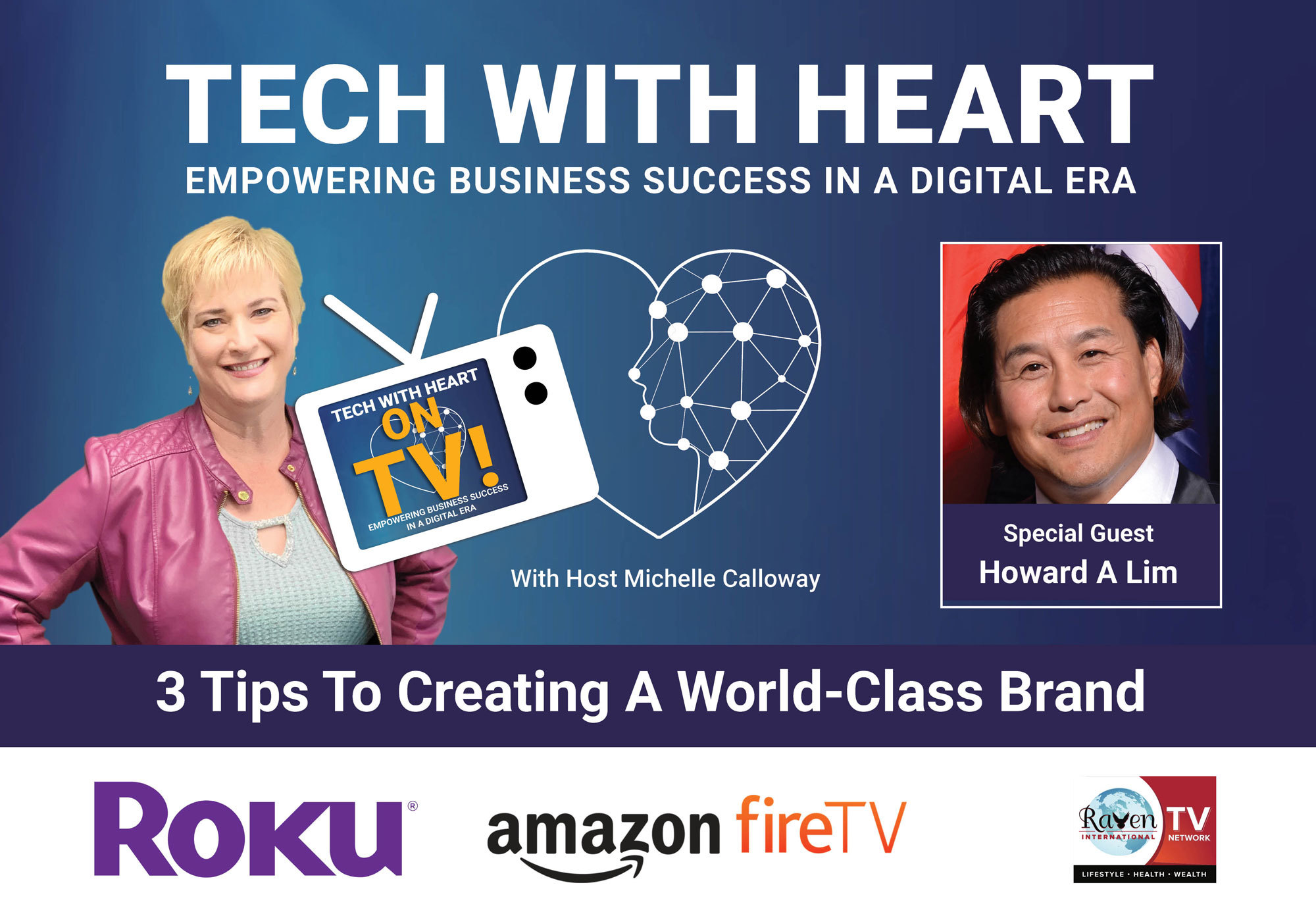 howard lim on tech with heart
